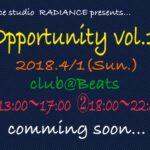 4・1 イベント開催!!